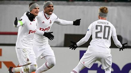 Lokomotiv de Jefferson Farfán venció 1-0 al Niza por Europa League