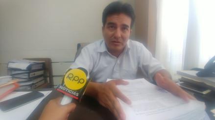 Consejero regional denunció irregularidades en trabajos de descolmatación