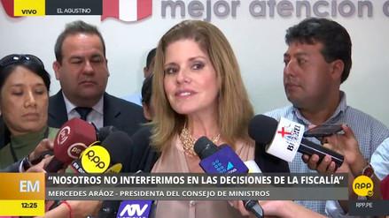 """Mercedes Aráoz: """"Nosotros no interferimos en las decisiones de la Fiscalía"""""""
