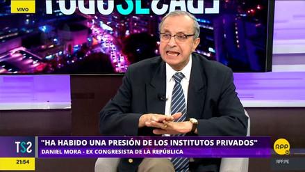 Daniel Mora dijo que institutos privados presionaron por ley de modalidades formativas laborales