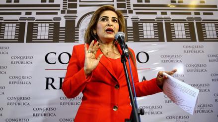 "Maritza García: ""Llegaremos a julio con 16 parlamentarios a favor de Kenji Fujimori"""