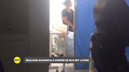 Sustentan pedido de prisión preventiva a chofer de bus accidentado en Camaná