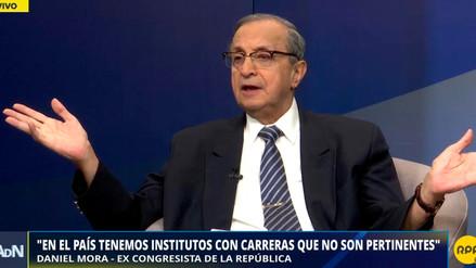 """Daniel Mora: """"Lo que quieren evitar es la mayor inversión que deben hacer los institutos"""""""