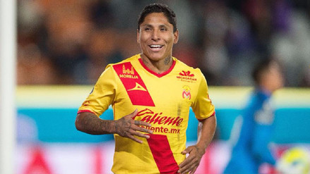 Raúl Ruidíaz alcanzó los 35 goles en la Liga MX con camiseta del Morelia