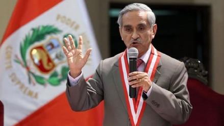 El juez supremo Duberlí Rodríguez denuncia amenazas contra su vida