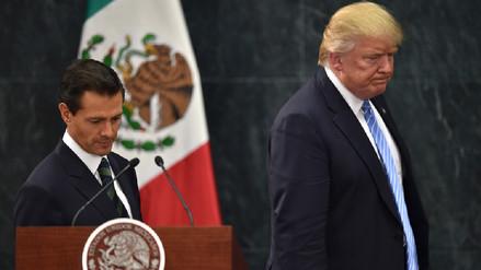 Discusión telefónica entre Trump y Peña Nieto frustra visita del presidente mexicano a EE.UU.