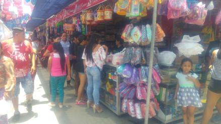 Estiman recaudar 2 millones de soles en feria escolar en El Porvenir