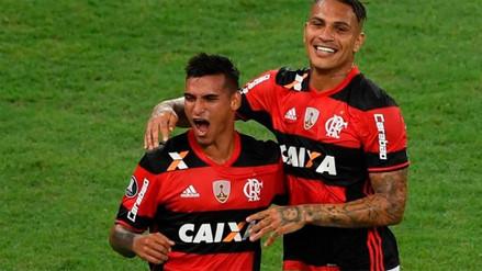 Paolo Guerrero y Miguel Trauco inscritos por Flamengo para jugar la Copa Libertadores