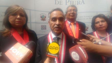 Presidente del Poder Judicial anunció severo control en el dinero de la Reconstrucción