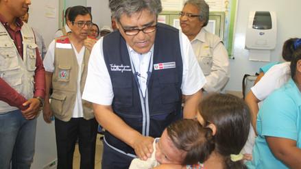 Ministro Salinas propone reforzar redes de salud para asegurar médicos