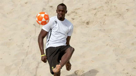 Usain Bolt anunció haber fichado por un equipo de fútbol