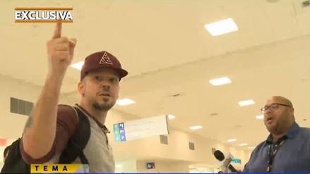 Video   Residente protagonizó fuerte altercado con un camarógrafo en Puerto Rico