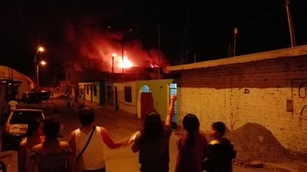 Un hombre se suicidó prendiéndose fuego en su casa de Ica