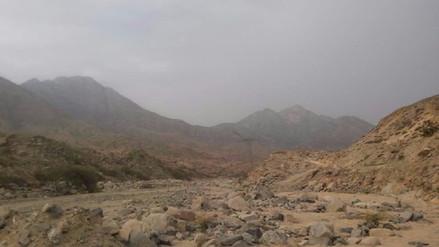 Descartan lluvias en quebrada San Ildefonso de Trujillo