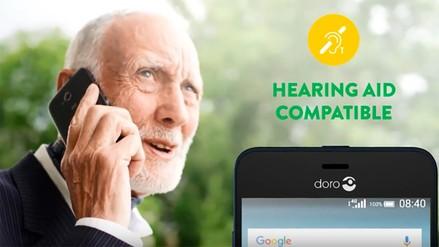 MWC | Así son los smartphones diseñados para los mayores de 65 años