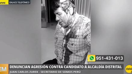 Precandidato a la alcaldía de Independencia fue agredido en un chifa