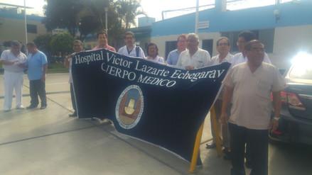 Médicos de EsSalud acatan paro nacional de 48 horas
