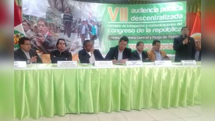 La Oroya: Tansportistas piden anulación de contrato con Deviandes
