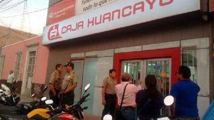 Reportaron incidente en caja de ahorro en Huacho
