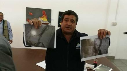 Túnel que traslada agua a Majes presenta grietas que preocupa a agricultores
