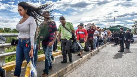 Hay cerca de 700,000 migrantes venezolanos registrados en Colombia