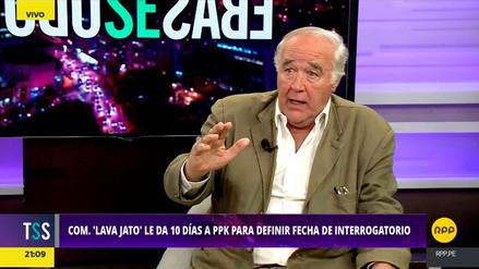 García Belaunde consideró que el indulto a Fujimori no es un motivo para vacar a PPK