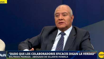 """Pedraza no espera que la declaración de Barata """"pueda complicar más"""" la defensa de Humala"""