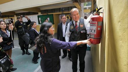 Detectan riesgo alto al colegio Arequipa a días del inicio del año escolar