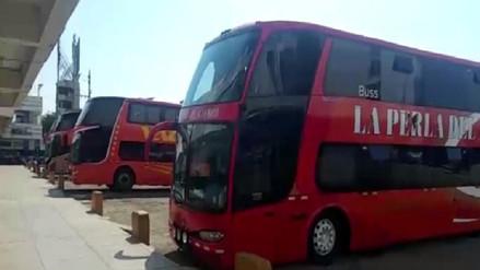 Modifican rutas para Buses de Servicio Interprovincial en Chiclayo
