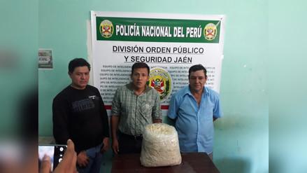 Policía incautó 14 kilos droga enviado en encomienda de Jaén a Cajamarca