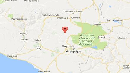 Dos sismos de 3.7 grados se reportaron en Arequipa y La Unión