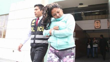 Ordenan prisión preventiva para joven acusada de asesinar a su pareja en Arequipa
