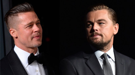 Brad Pitt y Leonardo DiCaprio protagonizarán la nueva cinta de Tarantino