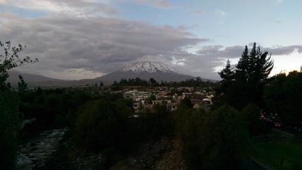 Lluvias ligeras se registrarán hasta este fin de semana en Arequipa