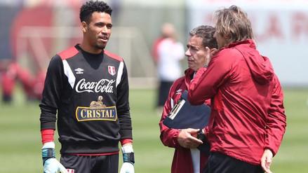 Pedro Gallese y su ausencia en amistosos de Perú: