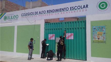 Clausuran colegio particular 'Galileo' de Nuevo Chimbote por inseguro