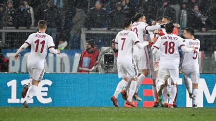 Milan venció en penales a Lazio y avanzó a la final de la Copa de Italia