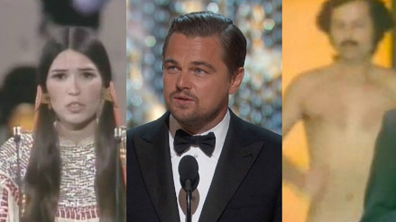 Oscar 2018: Las protestas y polémicas en la historia de los premios de Hollywood