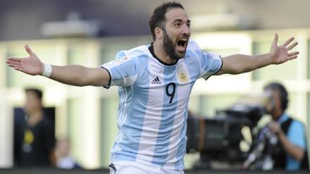 Gonzalo Higuaín fue la sorpresa en la convocatoria de la Selección Argentina
