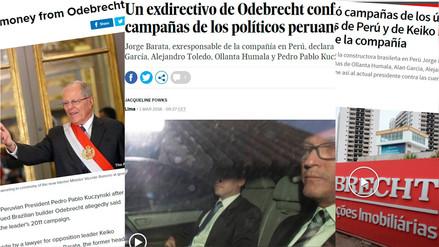 Las declaraciones de Barata sobre políticos peruanos llegaron a la prensa extranjera