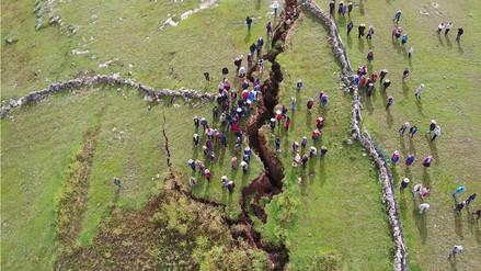 Así se ven las fallas geológicas en Cusco desde el cielo