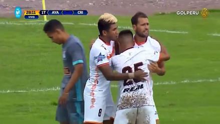 Sporting Cristal fue derrotado por Ayacucho FC en un partido lleno de goles