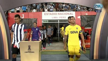 Así fue recibido Alianza Lima por sus hinchas en el Estadio Nacional