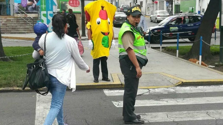 Realizan campaña de Seguridad Vial para reducir accidentes de tránsito