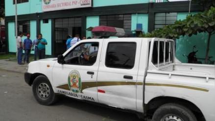 Capturan en Casma a tres sujetos acusados de extorsionar a un poblador