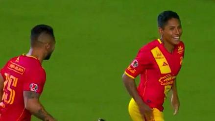 Raúl Ruidíaz marcó un espectacular gol de tijera con Monarcas Morelia