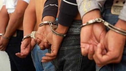 Detienen a delincuentes que extorsionaban a taxistas de Chiclayo