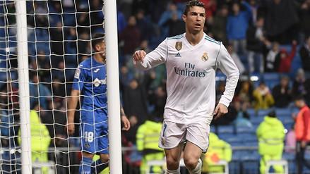 Real Madrid derrotó 3-1 al Getafe con un doblete de Cristiano Ronaldo
