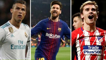 Un solo D10S: la tabla de los máximos goleadores de la liga española