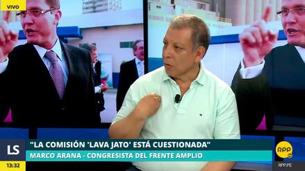 """Marco Arana: """"Rosa Bartra no debería seguir presidiendo la comisión Lava Jato"""""""